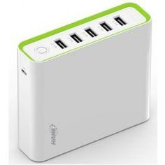 Hame H18 Power Bank 5 Output 20000mAh - White