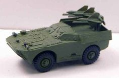 2P27 (AT-1 Snapper) Soviet ATGM Vehicle Free Paper Model Download