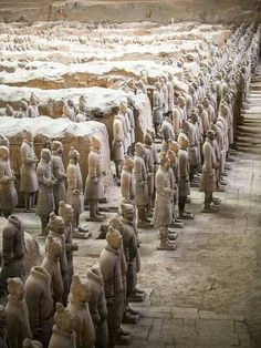 The Terracotta Army - Xian, China