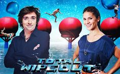 Holy Moly! There is a British version of Wipeout! And it's hosted by Richard Hammond! I am going to make John find this on the BBC online and watch it >:)