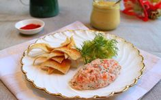 Smoked Salmon Rillette with Pickled Cucumber Recipe by Jun Tanaka