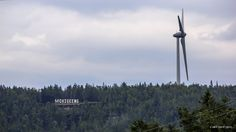 Wind Turbine in M'Chigeeng by Mikell Herrick