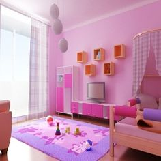 Interior Design Ideas for Girls' Bedroom  - Innovative Room Design Ideas For Your Kids