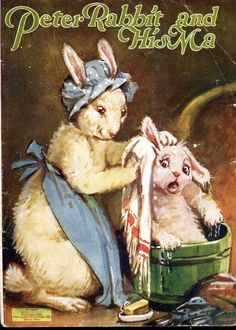 'Peter Rabbit and his Ma, Ilustrated by Frances Brundage, 1928