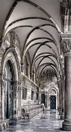 The Rector´s Palace, old town Dubrovnick, Croatia