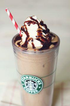 Homemade Skinny Starbucks Frappuccino!