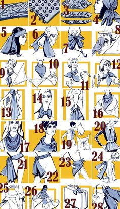 how to tie a scarf like a turban 2