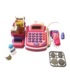 ENV Toys Pink Cash Register Set | zulily - A MUST HAVE!!! Best Toy Ever