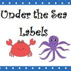 This bright colored, cute Under the Sea Labels come with the following:(8) 7.5x10.5 Labels for the following Centers     Writing, Computer, Buddy Readi...