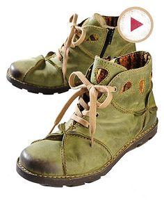 Rovers Gritt, green - fab boots!
