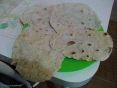 Receita de Pão de frigideira (pão ázimo - sem fermento)