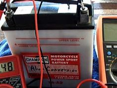 Lead-Acid battery converted to Lead-Alum - YouTube