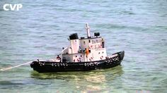 CVP - ATLANTIC Harbor Rc Tugboat with Barge by Nikos