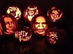 This is amazing Harry Potter Pumpkin Carving, Pumpkin Carving Contest, Pumkin Carving, Harry Potter Halloween Party, Halloween Party Themes, Halloween Crafts, Easy Halloween, Halloween Decorations, Halloween Pumpkin Stencils