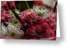A Birthday Bouquet Greeting Card by Joan-Violet Stretch