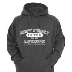 I want this for Xmas. http://dftba.com/product/1af/DFTBA-Pullover-Hoodie--Heather-Grey