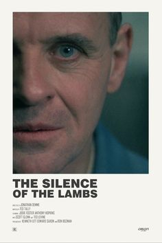 Silence of the Lambs alternative movie poster