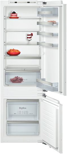 KI6873F30G This Fridge/Freezer has Fresh Sense - constant temperature by intelligent sensor technology a electronic controls for fridge & freezer with a Vegetable box with hydro fresh with rippled base for improved air circulation. Features  ◾Total net: 272 litres ◾Net fridge: 211 litres ◾Net freezer: 61 litres ◾Two separate cooling circuits allow independent temperature control & prevents the transference of humidity between the fridge/freezer cavity www.studiodesigns.co.uk