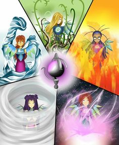 H collection - the favourite images chosen by on DeviantArt. Witch Series, Ghibli, Fan Anime, Witch Art, Winx Club, Disney Cartoons, Animation Film, Magical Girl, Fantasy Creatures