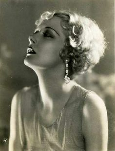 Todays 1930s hair & makeup Inspiration from actress and Zeigfeld girl, Mary Nolan