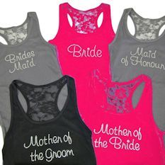 Wedding Cake Toppers - Wedding T-Shirts - Bridal & Bridesmaid Tank Tops - Flower Girls