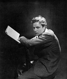 © Foto de Cecil Beaton. Marlon Brando, 1947.