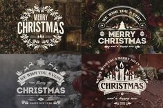 Check out Christmas & New Year Badges & Labels by Marvel on Creative Market