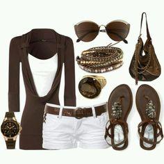 Summer wear! Cute!