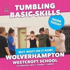 Cartwheel your way to a new level! Book on our Tumbling Basic Skills course in #Wolverhampton on the 22nd February today!  #ukca #ukcheer #ukcheerleading #cheeruk  Secure your place: http://ift.tt/2EvzOdH