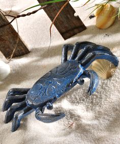 Look at this Blue Crab Figurine on #zulily today!