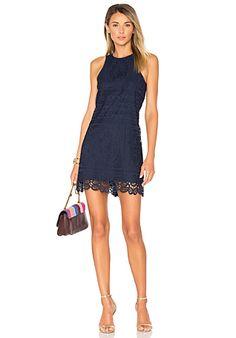 MLV Mira Spaghetti Strap Sequin Dress en Azul Marino | REVOLVE