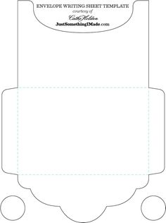 Free Envelope Template - upload family photo and print on one side. Then use template to make envelope ...see adjacent pin.