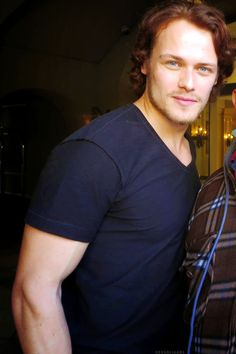Sam Heughan is one of God's finest  masterpieces!