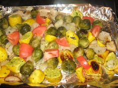 Roasted Vegetables: Low Carb Recipes