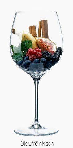 Blaufränkisch (red)   Aromas of mint, banana, fresh fig, blackberry, blueberry, raspberry, cinnamon stick   Limberg, Austria