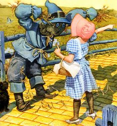 WIZARD OF OZ BY CHARLES SANTORE