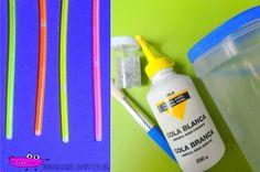 Linternas fluorescentes materiales