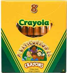 Crayola Multicultural skin tone crayons - so awesome.