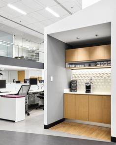 Kitchen at Coty's Mexico City office