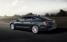 Download wallpapers Buick LaCrosse, 2018, 4k, side view, business class new gray LaCrosse, American cars, Buick