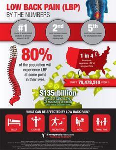 Low Back Pain by the Numbers (Infographic) › Low Back Pain ...#bushnellpt #oremsportsmedicinecenter #backpain
