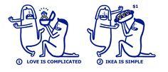 IKEA upraszcza Walentynki, wypuszczając instrukcje obsługi związków