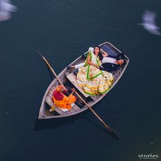 Couple sharing a quiet moment on still, peaceful waters in Jaipur, India. <3 this one by Joseph Radhik Photography  #weddingphotography
