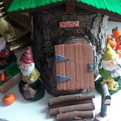 This is an example of an indoor fairy garden using some items from my shop.