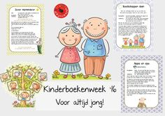 Kinderboekenweek grootouders lesidee voor altijd jong Creative Kids, School Teacher, Kids Learning, Art Lessons, Childrens Books, Literacy, Homeschool, Classroom, Teaching