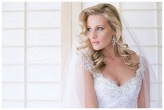16 Bridal Hairstyles for Long Hair {Lovely long loose flowing waves | Hair: Merle Titus  | Image credit: by Lindy K Photography via ConfettiDaydreams.com}