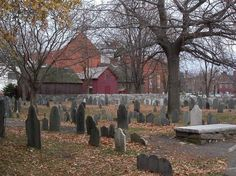 Oldest Graveyard is Salem, Massachusetts. The Burying Point was founded in 1637. Back when Witchcraft was believed and performed.