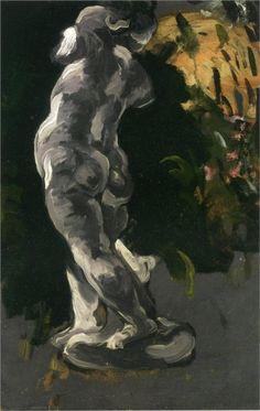 Amour in Plaster, 1867 Paul Cezanne
