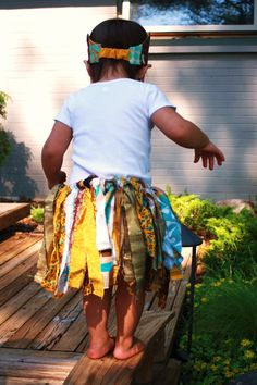 Boho Fabric Scrap Tutu. $18.00, via Etsy. #mylittleloves