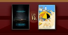 Matchup of the Day: It Follows VS Jaws - http://www.flickchart.com/blog/matchup-of-the-day-it-follows-vs-jaws/
